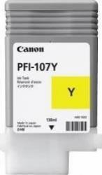 Cartus Canon PFI-107 Galben iPF780 iPF785 130ml Cartuse Tonere Diverse