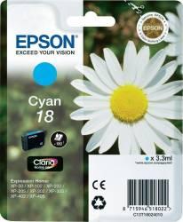 Cartus Epson 18 Cyan 3.3 ml Cartuse Tonere Diverse