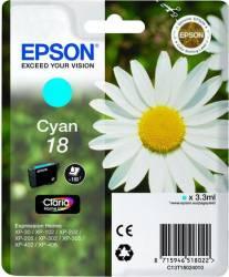 Cartus Epson T1802 compatibil cu XP-102/202/205/302/305/402/405/405WH 3.3ml Cyan Cartuse Tonere Diverse