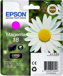 Cartus Epson T1803 compatibil cu XP-102/202/205/302/305/402/405/405WH 3.3ml Magenta Cartuse Tonere Diverse