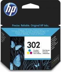Cartus HP 302 Tri-color 165 pag