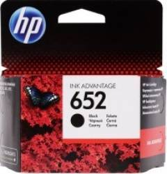 Cartus HP 652 Black 360 pag. Deskjet Ink Advantage 1115 2135 3635 3835 Cartuse Tonere Diverse