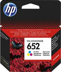 Cartus HP 652 Tri-color 200 pag. Deskjet Ink Advantage 1115 2135 3635 3835 Cartuse Tonere Diverse