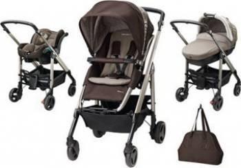 Carucior copii Bebe Confort Stroller Trio Loola Excel 3 in 1 Earth Brown Carucioare copii