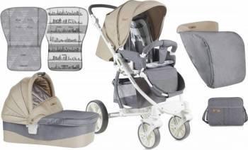 Carucior Lorelli Sistem SAVANA Gray - Beige Carucioare copii