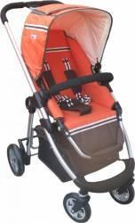 Carucior Lux Scaun Reversibil, Primii Pasi C9100 Orange Carucioare copii