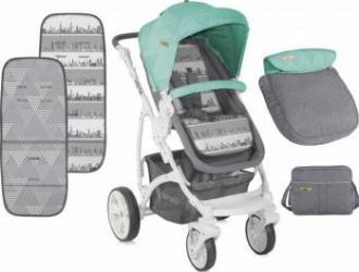 Carucior Sistem Vista Grey-Green Resigilat Carucioare copii