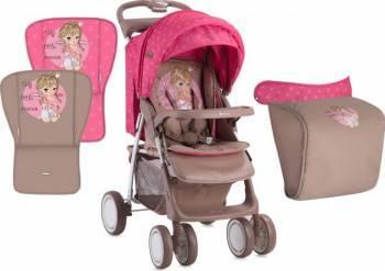 Carucior Sport Foxy Cu Husa Pink Princess