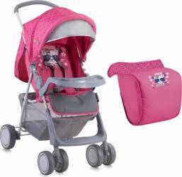 Carucior Sport Lorelli Terra cu husa, Pink Kitty Carucioare copii