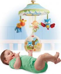 Carusel Muzical cu Proiectie Magia Noptii Jucarii Bebelusi