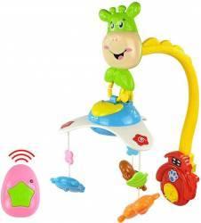 Carusel muzical cu telecomanda si proiectii Learning Fun Monitorizare bebelusi