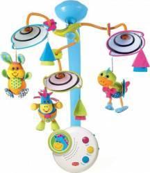 Carusel Muzical Tiny Love Clasic cu Lumina de Veghe Multicolor Jucarii Bebelusi