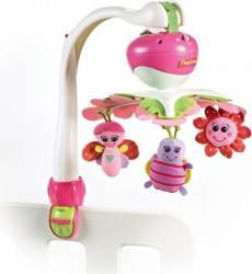 Carusel Muzical Tiny Love Portabil 3 in 1 Ia-Ma Cu Tine Mica Printesa Multicolor Jucarii Bebelusi