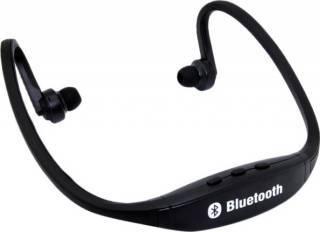 Casca Bluetooth OEM Stereo pentru telefonul mobil negru