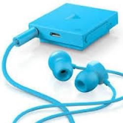 Casca bluetooth stereo Nokia BH-121 cu incarcator AC-XE Cyan