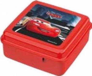 Caserola cu capac din plastic BBS cu Cars pentru copii