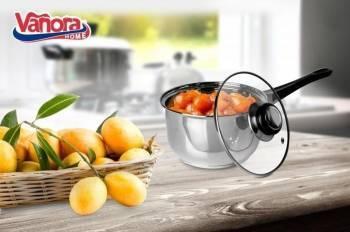Caserola inox + capac 16x9.5cm 1.4 L PRIMO Bonus Fairy Lemon 450ml