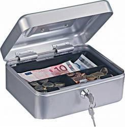 Caseta bani HOMESTAR cash 2 argintiu Seifuri Lacate Feronerie
