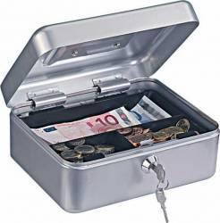 Caseta bani TRAUN 2 argintiu Seifuri Lacate Feronerie
