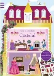 Castelul - Carte cu autocolante