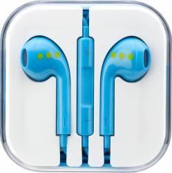 Casti ABC Tech cu Microfon Albastru Casti telefoane mobile