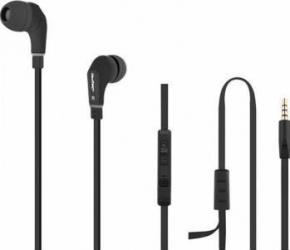 Casti Audio cu Microfon Qoltec Negru 50806 Casti telefoane mobile