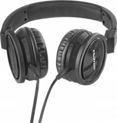 Casti Audio cu Microfon Qoltec Negru 50810 Casti telefoane mobile