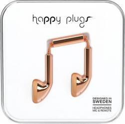 Casti Audio Happy Plugs Deluxe Earbud Auriu Roz