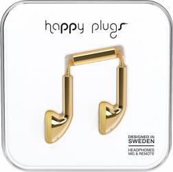 Casti Audio Happy Plugs Deluxe Earbud Auriu