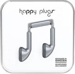 Casti Audio Happy Plugs Deluxe Edition Earbud 7833 Gri