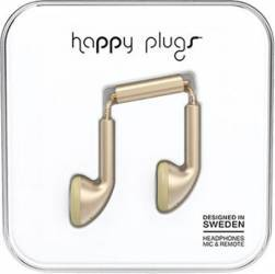 Casti Audio Happy Plugs Deluxe Edition Champagne Earbud 7831