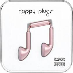 Casti Audio Happy Plugs Deluxe Edition Earbud 7835 Roz