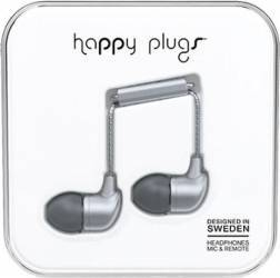 Casti Audio Happy Plugs Deluxe Edition In Ear 7834 Gri