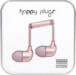 Casti Audio Happy Plugs Deluxe Edition In Ear 7836 Roz Casti telefoane mobile