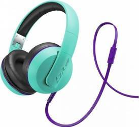 Casti Audio Magnat LZR 580 Verde cu Mov Casti