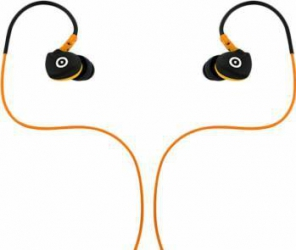 Casti Audio Muvit Sport cu Microfon Negru/Portocaliu
