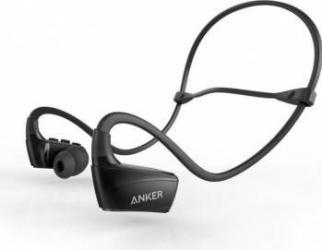 Casti Bluetooth 4.1 Anker SoundBuds NB10 Sport Negre Casti Bluetooth