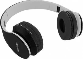 Casti Bluetooth Qoltec Negru 50814