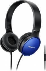 Casti Cu Banda Si Microfon Panasonic RP-HF300ME-A Albastru Casti
