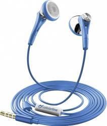 Casti Cu Fir Cellularline FireFly6 Albastru