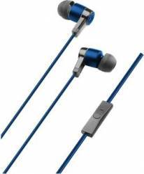 Casti cu microfon Cellularline In Ear Albastru