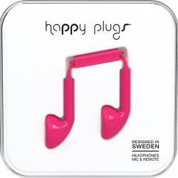 Casti Cu Microfon Fir Cerise Happy Plugs 7709 Roz