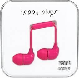 Casti Cu Microfon Fir Cerise Happy Plugs 7724 Roz