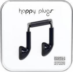 Casti Cu Microfon Happy Plugs 7705 Negru