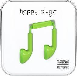 Casti Cu Microfon Happy Plugs 7713 Verde