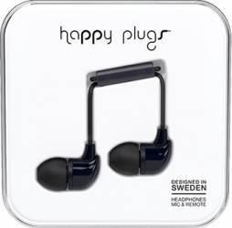Casti Cu Microfon Happy Plugs 7720 Negru
