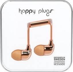 Casti Cu Microfon Happy Plugs 7738 Auriu