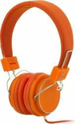 Casti cu microfon iBOX D-12 portocalii Casti