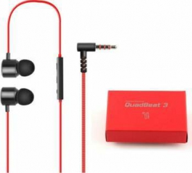 Casti cu microfon LG Headset QuadBeat 3 LE630 Red Bulk