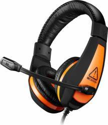 Casti Gaming CANYON CND-SGHS1 Black-Orange Casti Gaming